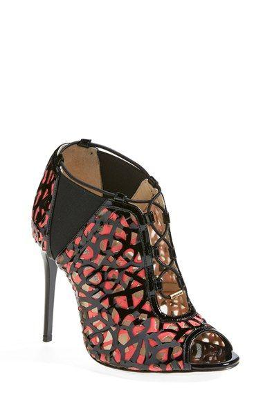 Düğün - Jimmy Choo 'Tactic' Open Toe Bootie (Women)