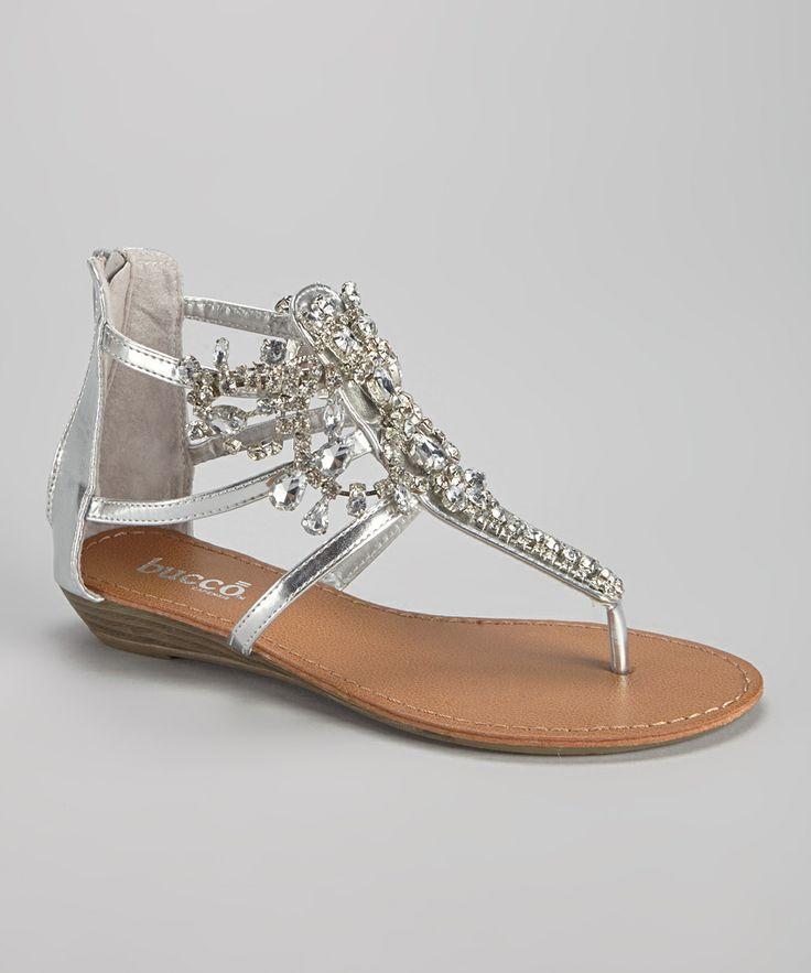 Hochzeit - Silver Destiny Sandal