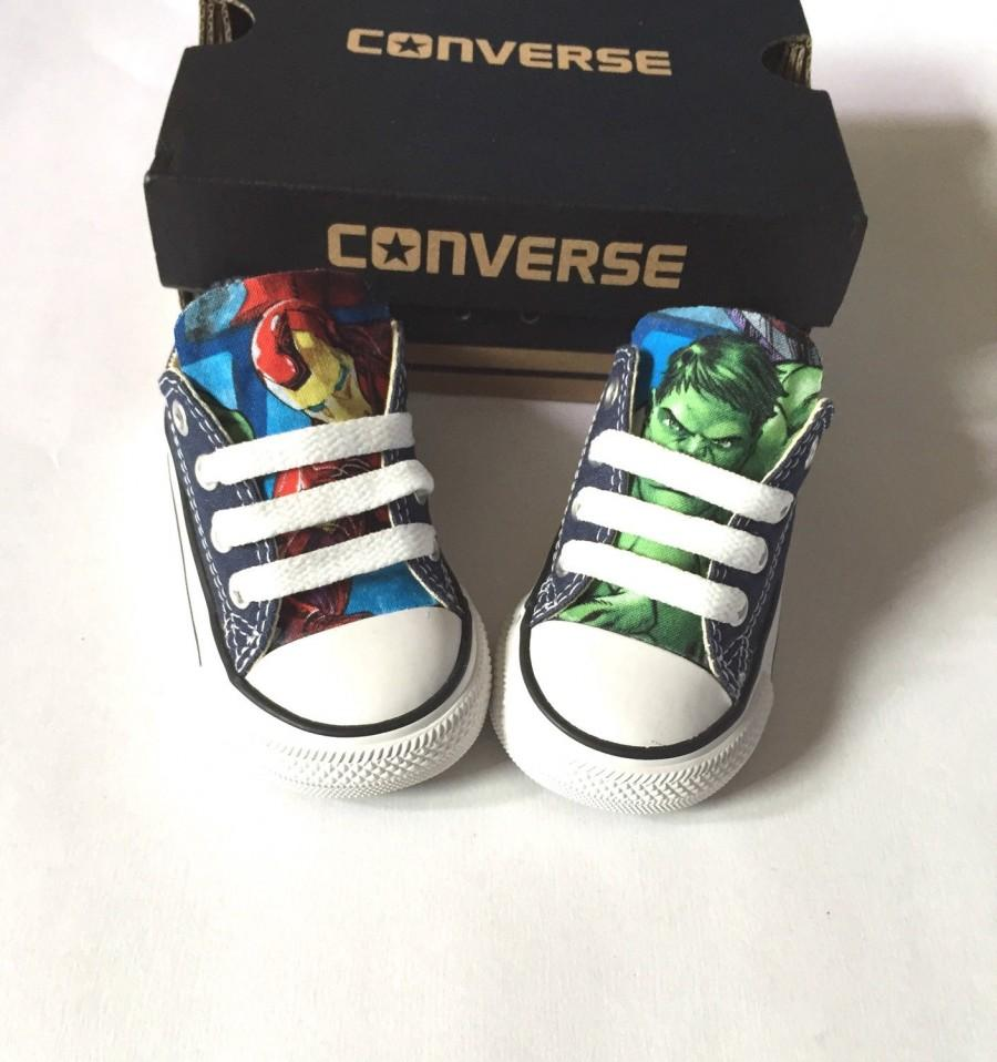 Boda - Avengers Marvel Comics Shoes, Converse Avengers Shoes, Kids Iron Man Shoes, Hulk Shoes, Thor Shoes, Black Widow, Hawk, captain america