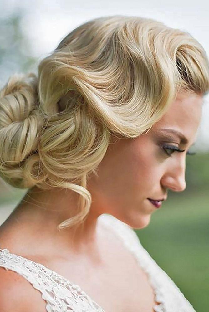 Düğün - 30 Utterly Gorgeous Vintage Wedding Hairstyles