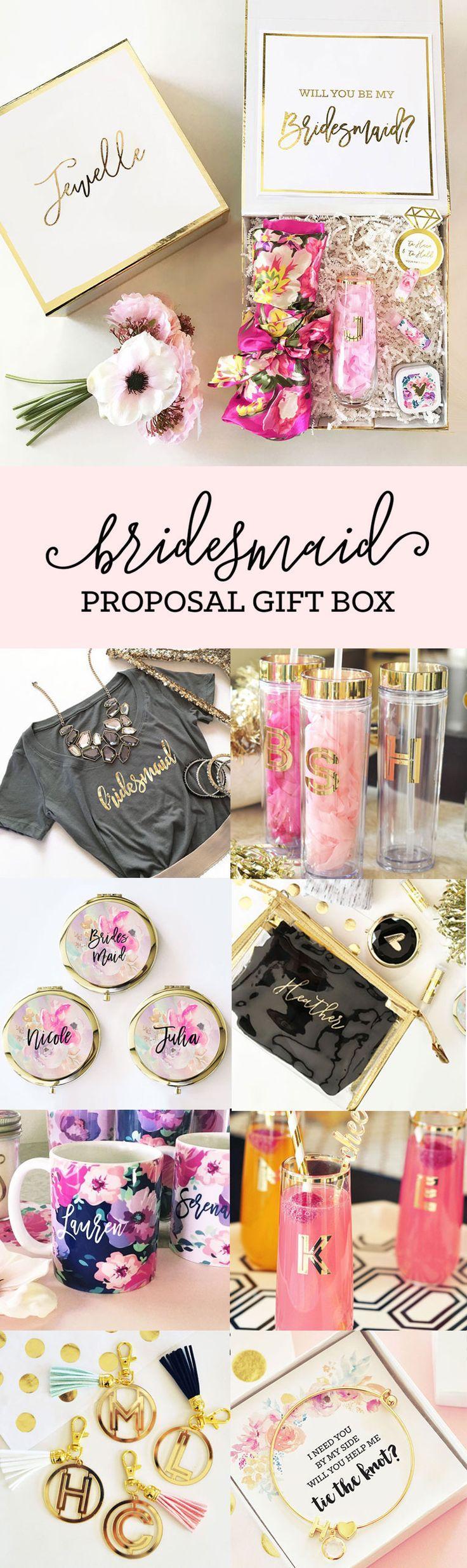Свадьба - Gift Box For Bridesmaids