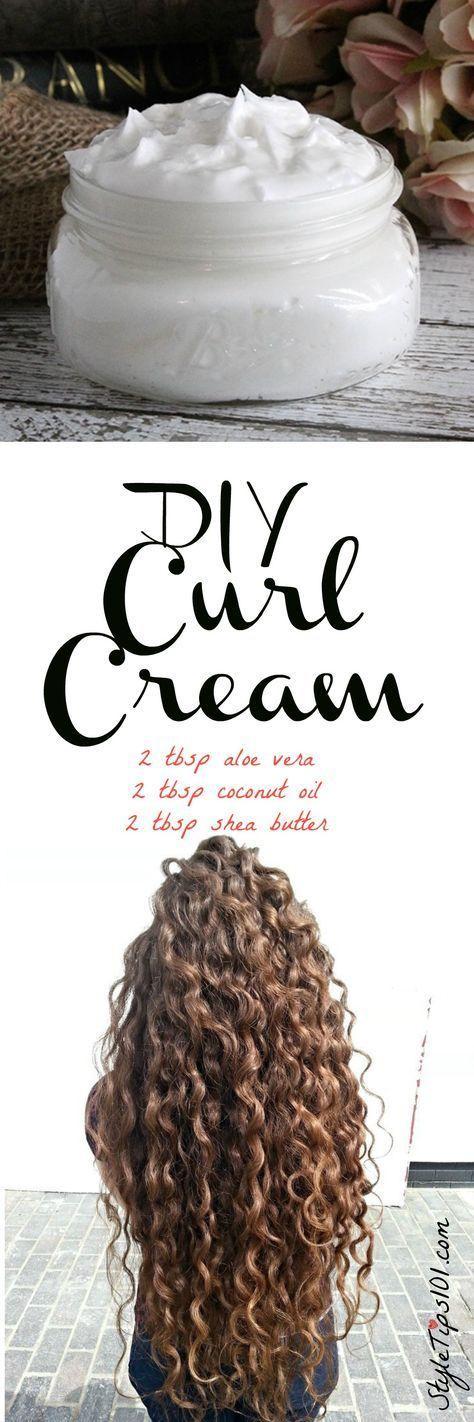 Hochzeit - DIY Curl Cream
