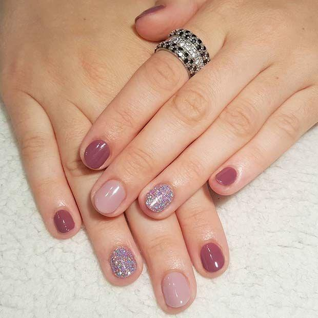 Nail - 21 Elegant Nail Designs For Short Nails #2745799 - Weddbook