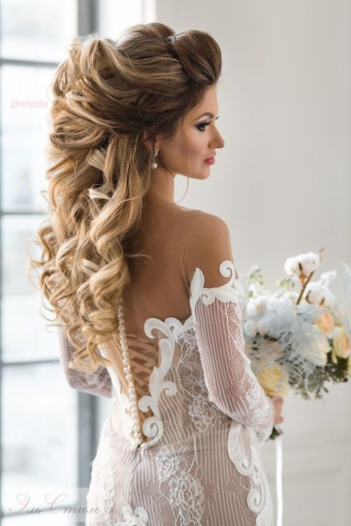Boda - Wedding Hairstyle Inspiration - Elstile
