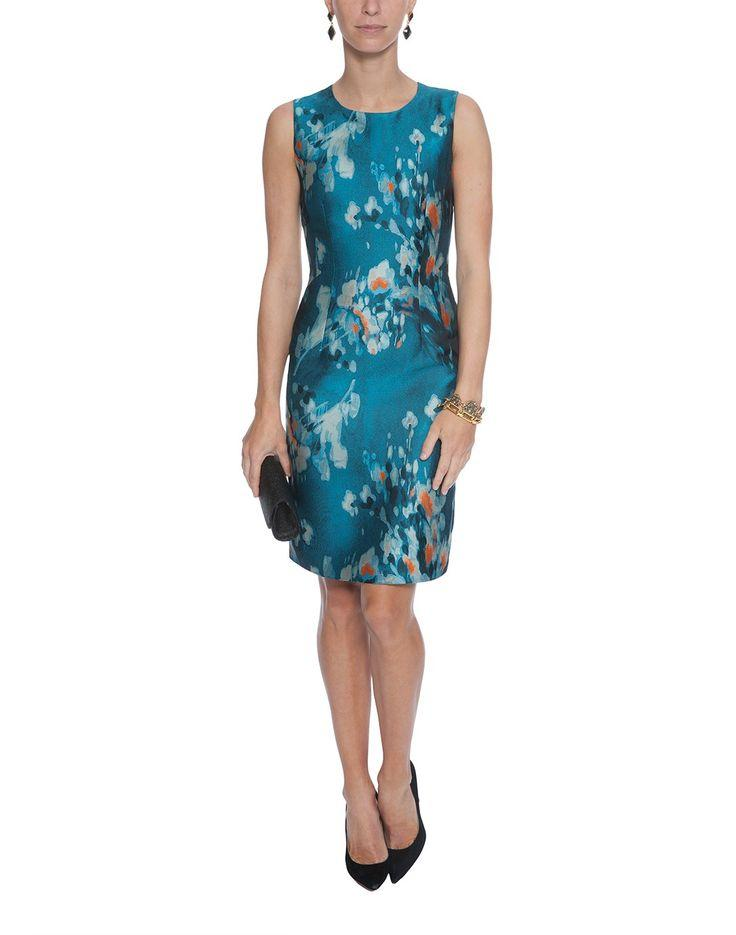 Mariage - Floral-Jacquard Sheath Dress