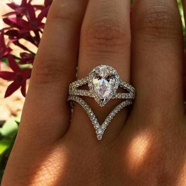 Wedding - 40  Unique Engagement Rings, Just Say WOW