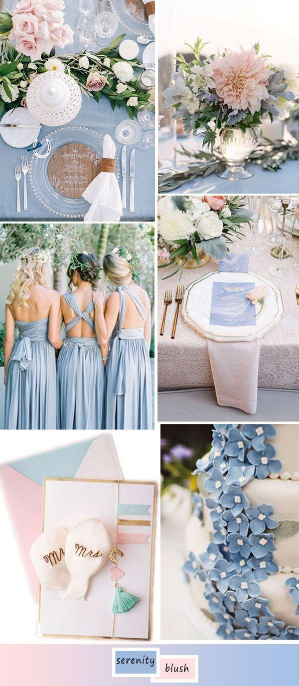 Mariage - Top 5 Perfect Shades Of Blue Wedding Color Ideas For 2017