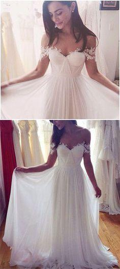 Mariage - Charming A-Line Wedding Dresses,Lon