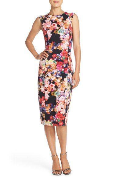 Düğün - Floral-dress-for-summer
