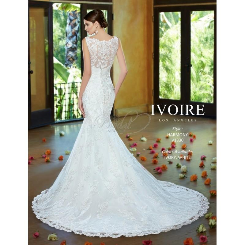 Boda - Ivoire by Kitty Chen Spring 2014 Style 1330 Harmony - Elegant Wedding Dresses