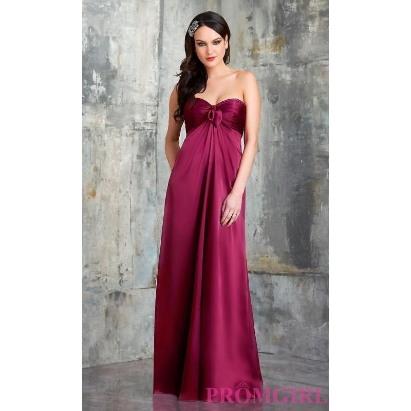 Boda - Shirred Bodice Bridesmaid Dress by Bari Jay - Brand Prom Dresses