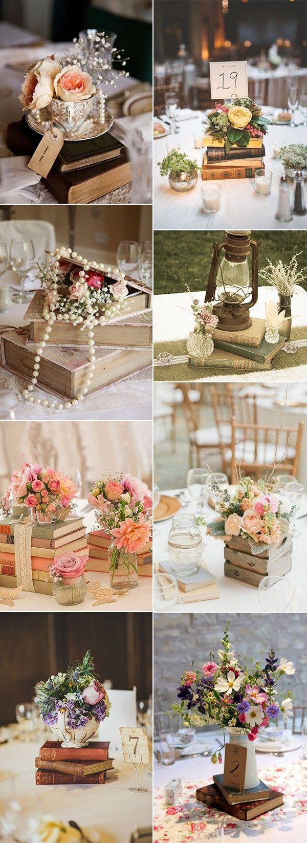 Wedding - 50 Fabulous Vintage Wedding Centerpiece Decoration Ideas