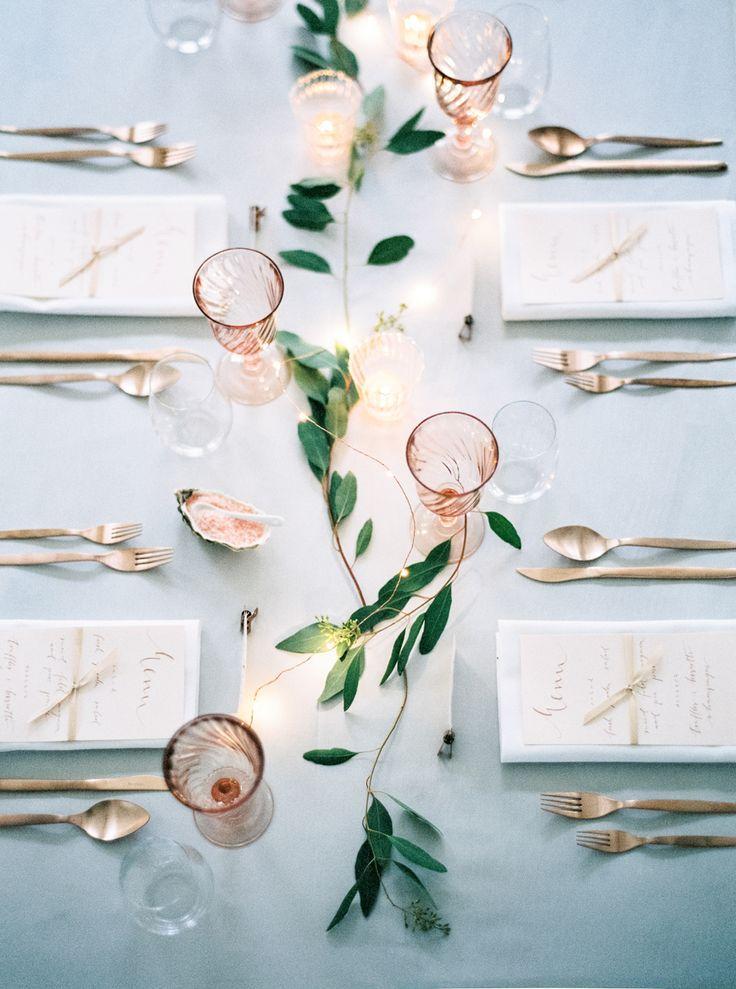 Wedding - Inspirasjon – En Elegant Og Rustikk Drøm