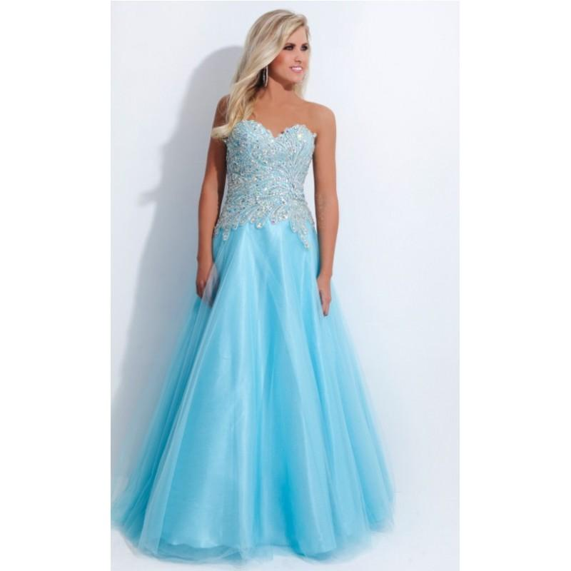 Boda - Tony Bowls Limited Edition NP801 Dress V1772-01 - Brand Prom Dresses