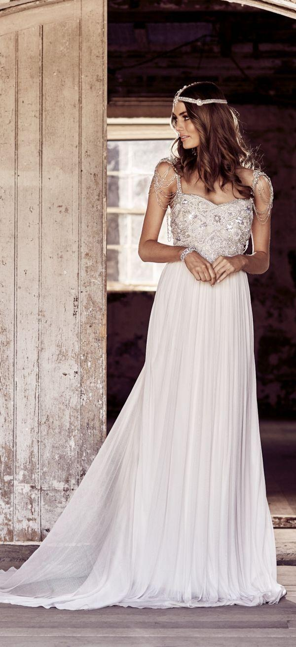 Dress - Anna Campbell Wedding Dresses 2018 #2747302 - Weddbook