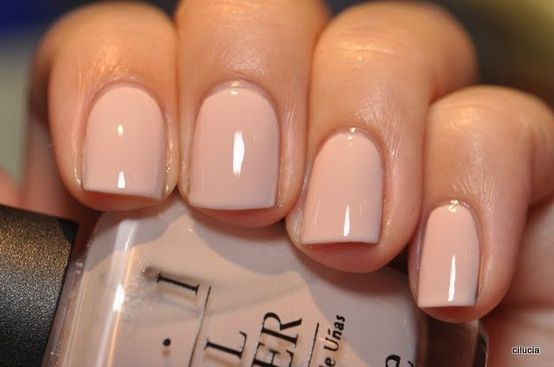 Wedding - Nude Manicure