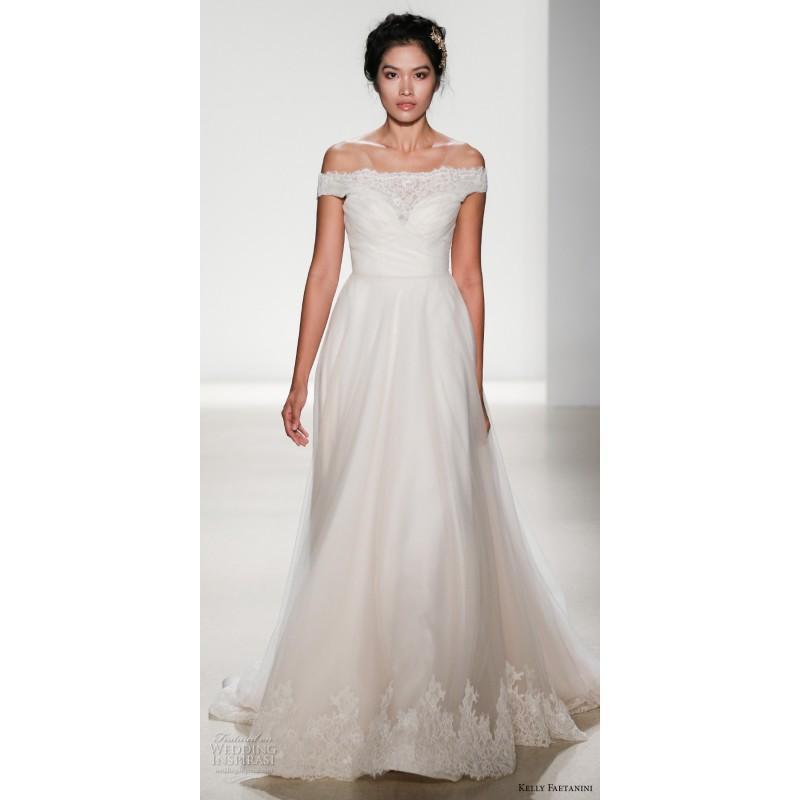 Свадьба - Kelly Faetanini Miranda Spring/Summer 2018 Chapel Train Sweetheart Sweet Spring Bridal Dress - Junoesque Wedding Dresses