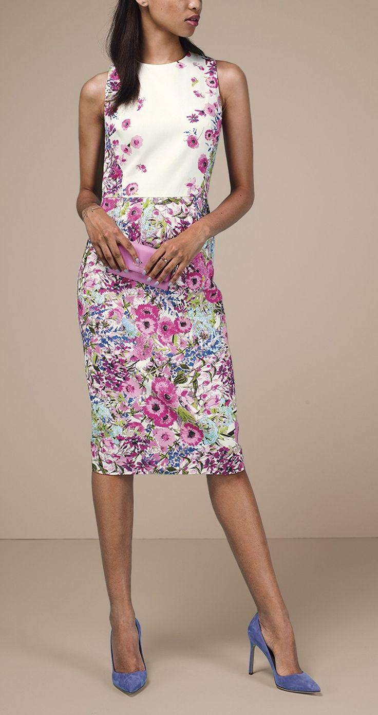 Mariage - Maggy London Midi Dress & Accessories