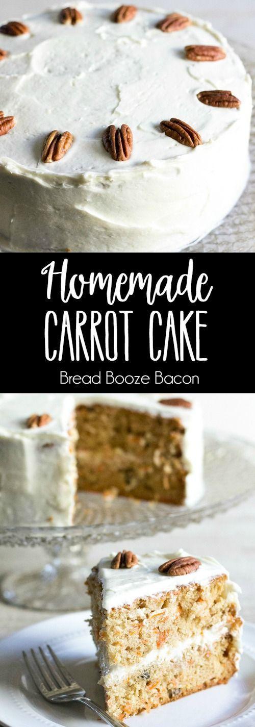 Wedding - Homemade Carrot Cake