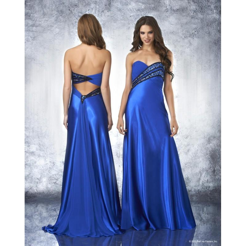 Wedding - Shimmer by Bari Jay 59639 Cobalt,Fuschia Dress - The Unique Prom Store