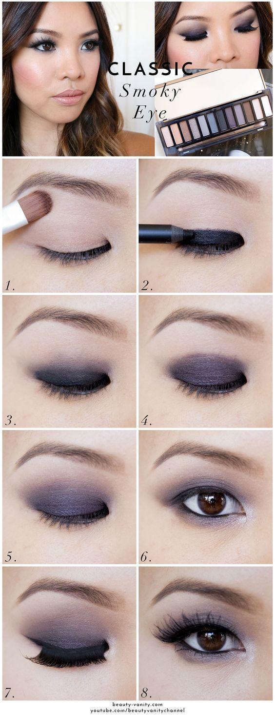 Свадьба - Dark Eye Makeup
