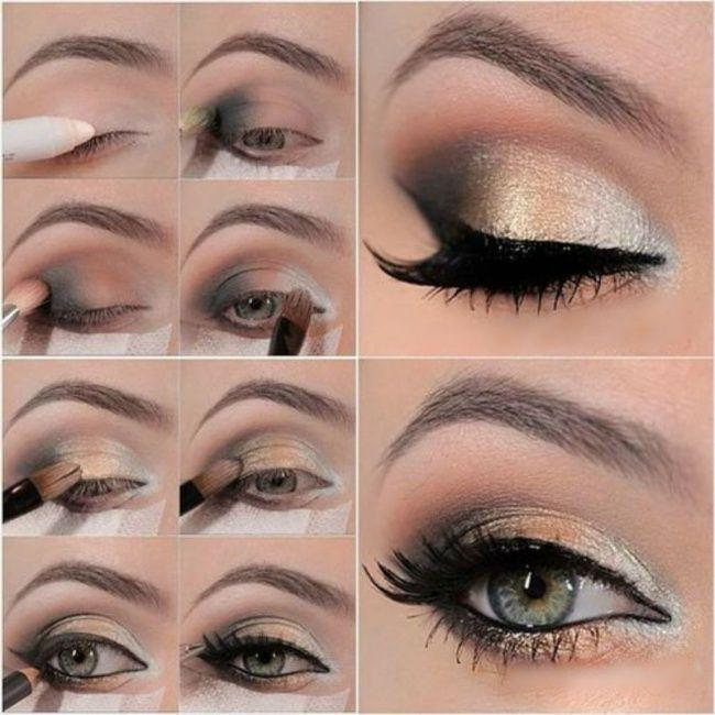 Makeup Gold Smokey Eye 2748418 Weddbook