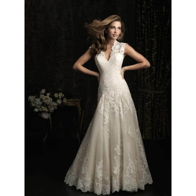 Allure Bridals 8965 Vintage Lace Wedding Dress - Crazy Sale Bridal ...