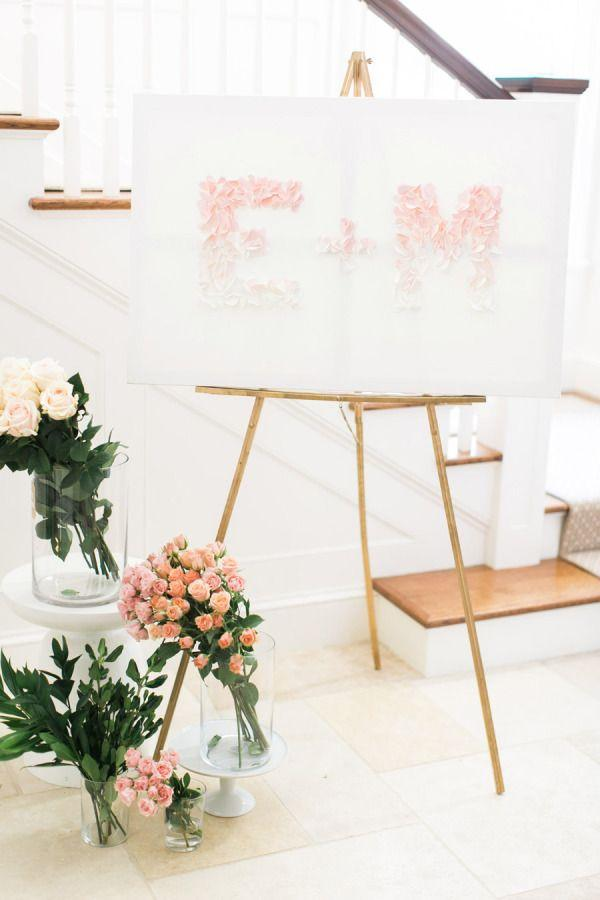 Wedding - DIY Fluttering Heart Sign
