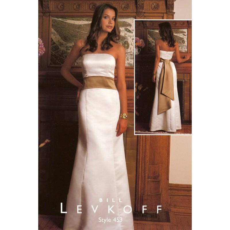 Wedding - Bill Levkoff 453 - Rosy Bridesmaid Dresses
