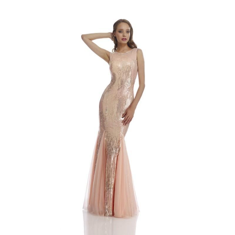زفاف - Nika 9342 Blush,Black/Gold,Silver/Gold/Ivory Dress - The Unique Prom Store