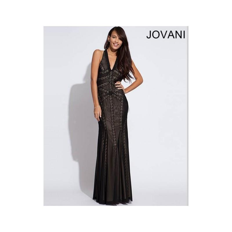 Wedding - Classical Cheap New Style Jovani Prom Dresses  7236 Black New Arrival - Bonny Evening Dresses Online