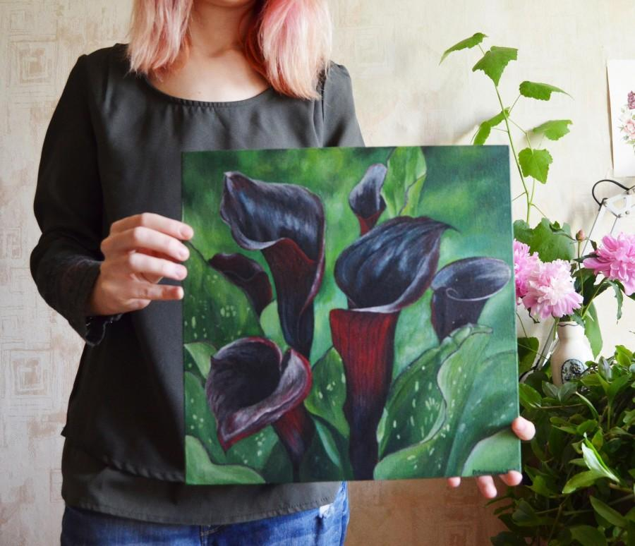Mariage - Flower painting