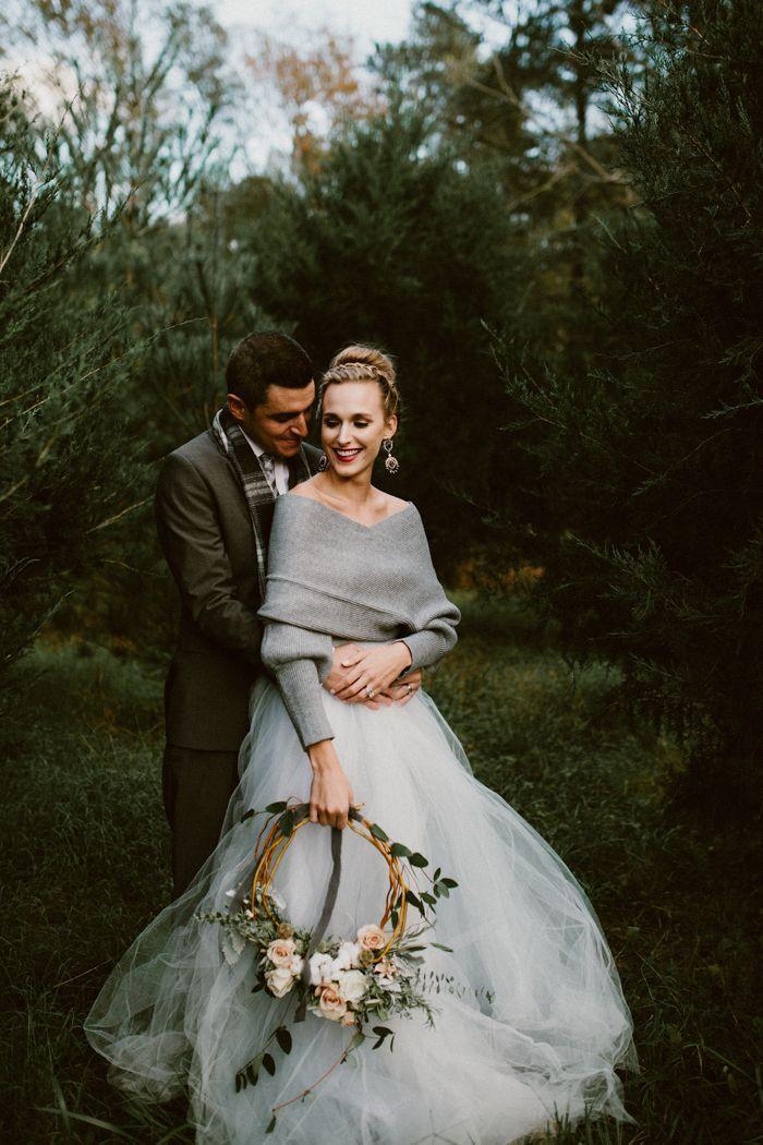 Свадьба - Fashionably Cozy Winter Wedding Inspiration