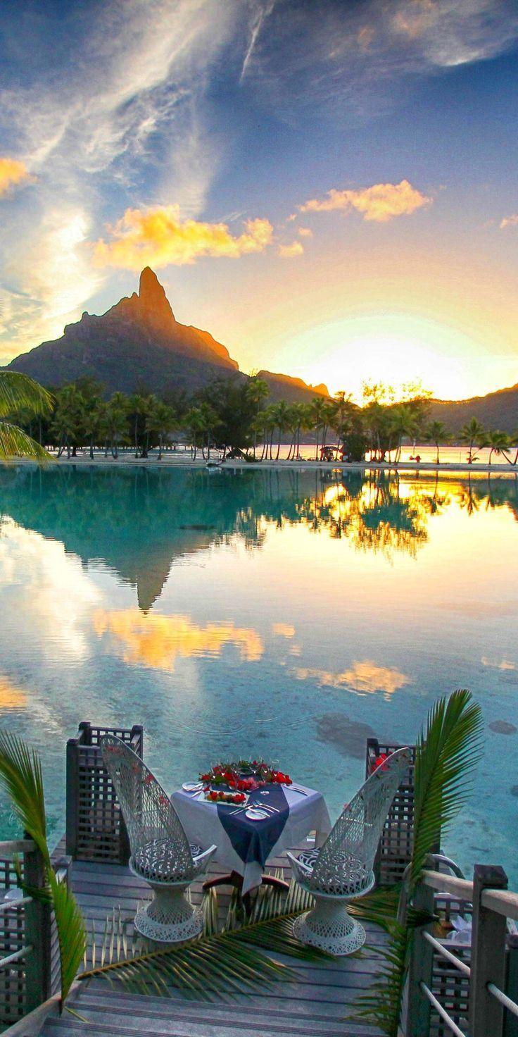 زفاف - Romantic Bora Bora Honeymoon.