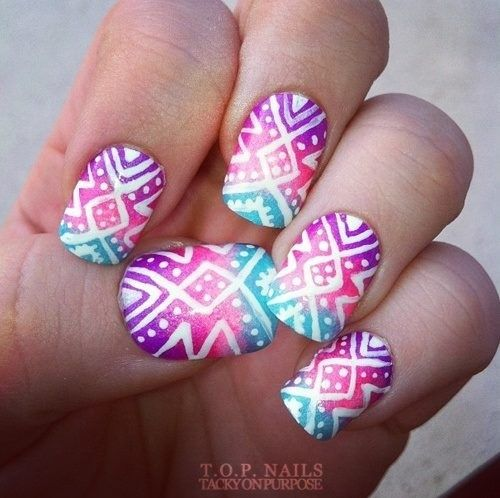 Super Cute Nail Design - Nail - Super Cute Nail Design #2750599 - Weddbook