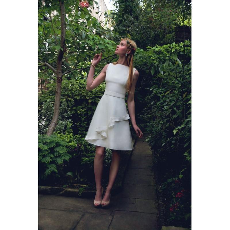 aa88e8b95ef Tobi Hannah Castle Short Wedding Dress - Designer Wedding Dresses ...