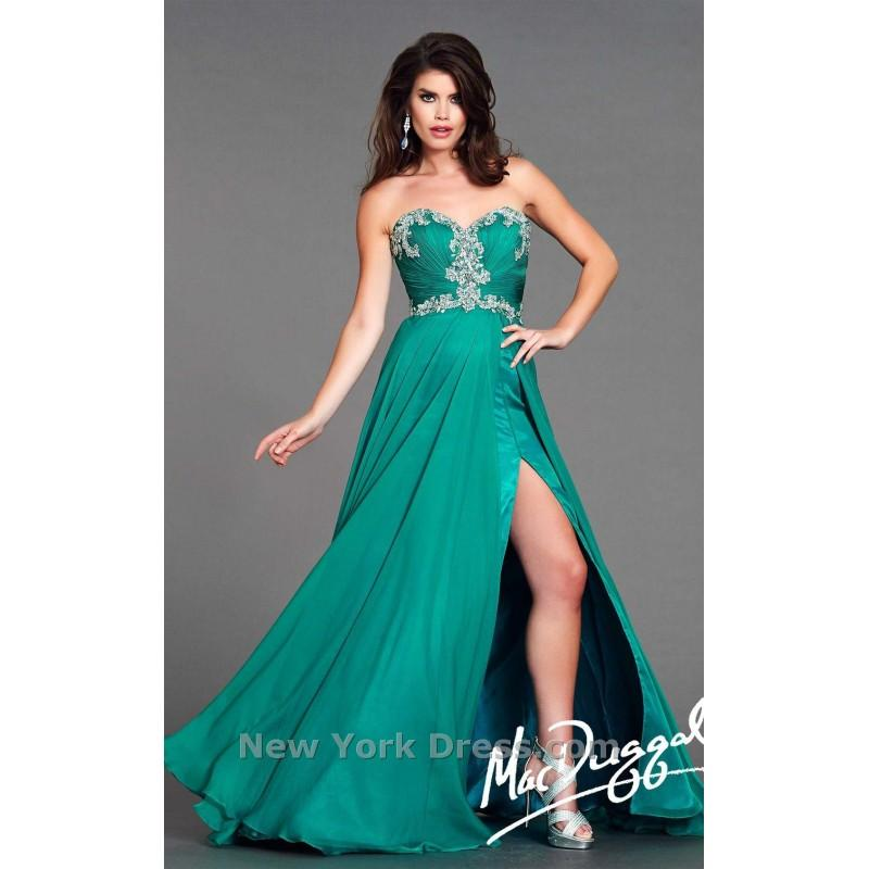 Свадьба - Mac Duggal 64625L - Charming Wedding Party Dresses