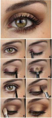 Свадьба - Brown Natural Makeup