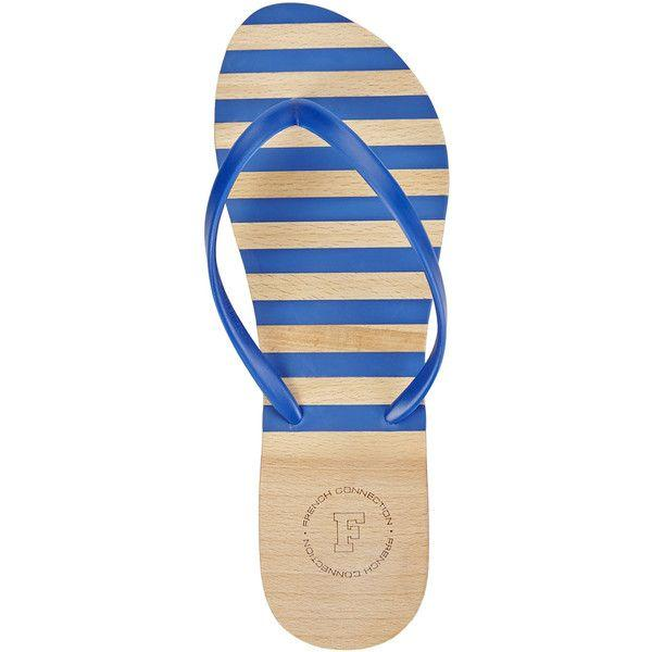 Свадьба - French Connection Blue Filipa Flip Flops