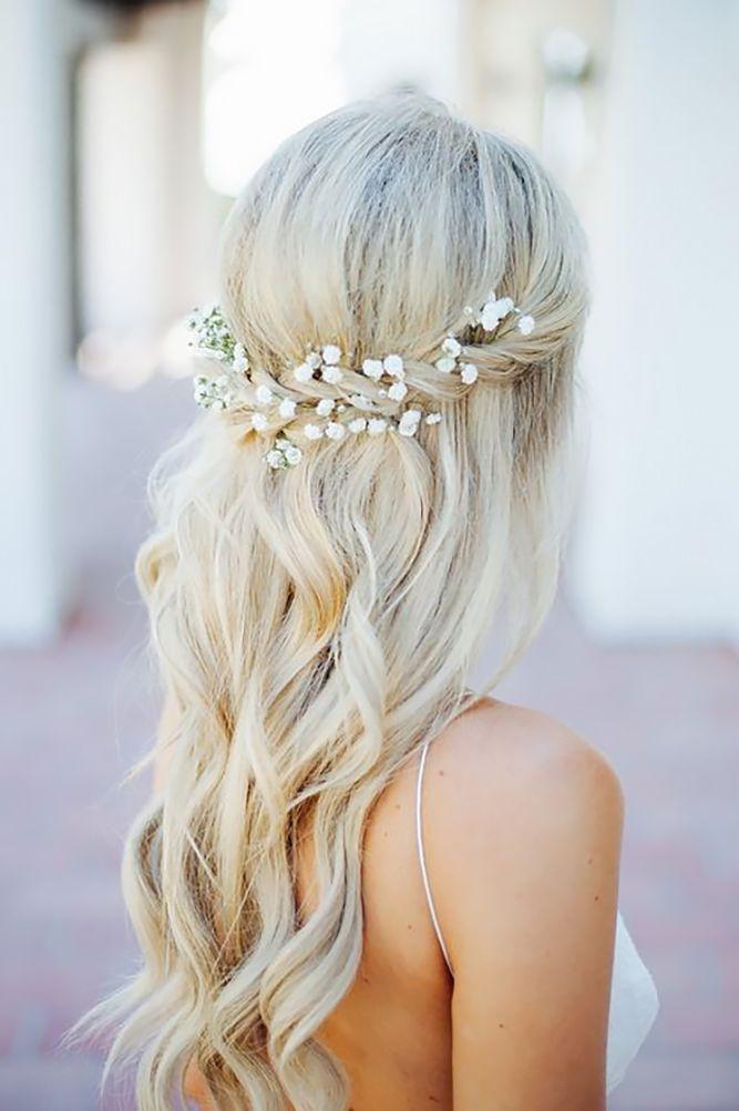 Mariage - 39 Half Up Half Down Wedding Hairstyles Ideas