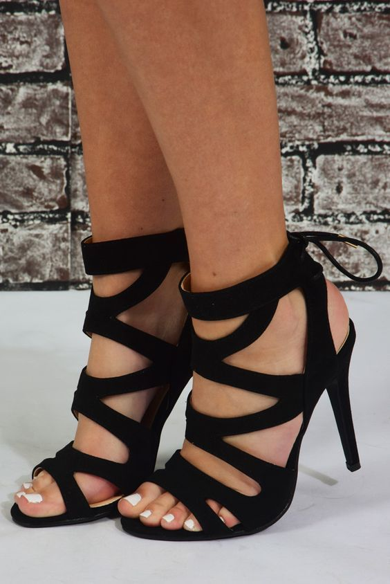 زفاف - Dance The Night Away Heels: Black