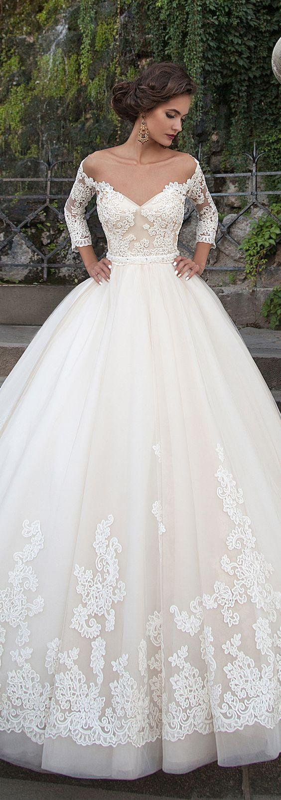 زفاف - 15 Stunning Wedding Dresses To Inspire You