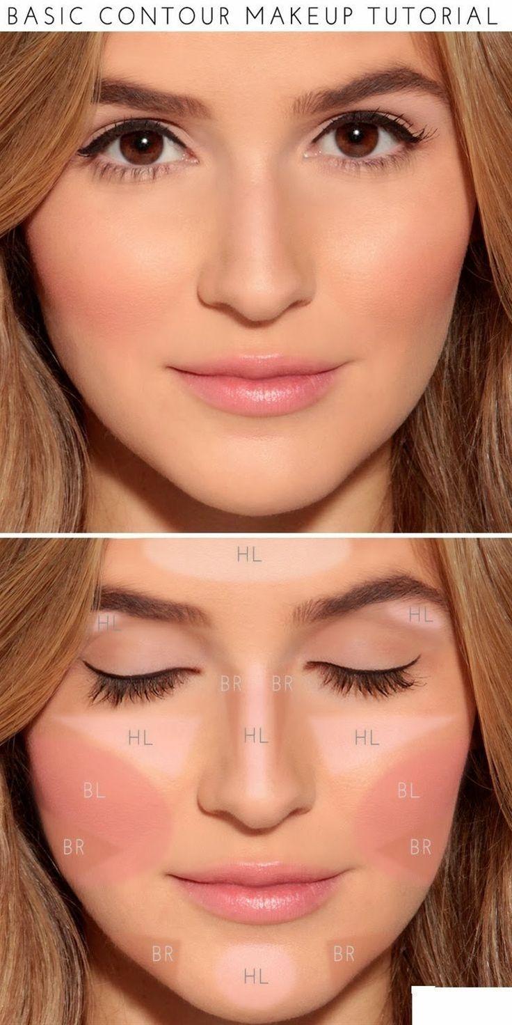 Wedding - How To : Basic Contour Makeup Tutorial