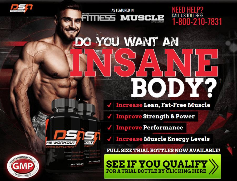 Свадьба - Dsn Pre Workout - Do You Want An Insane Body? Get Your Free Trial