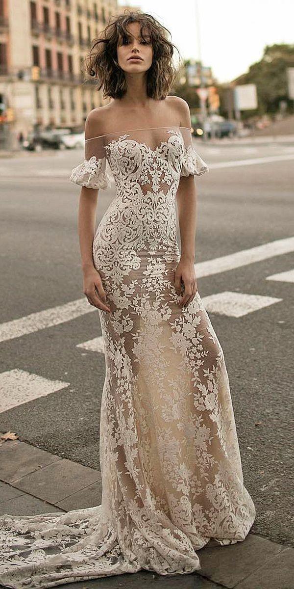Mariage - 18 Romantic Off The Shoulder Wedding Dresses