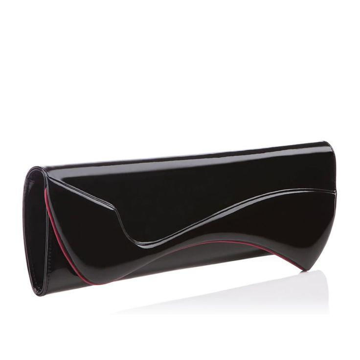 Wedding - Pigalle Clutch Black Patent