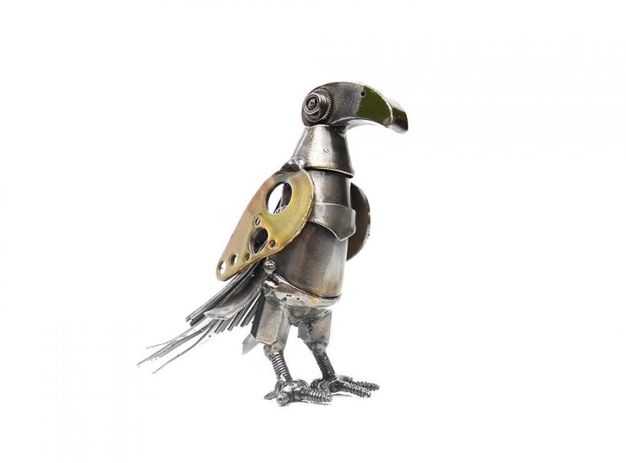 Свадьба - Metal sculpture Mechanical bird Steampunk bird Welded bird. Metal bird Sculpture, Welded. Metal Steampunk.