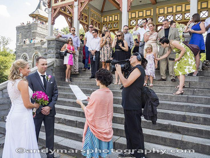 Belvedere castle terrace wedding
