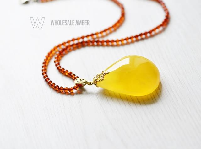 Baltic amber pendant necklace for adults natural amber stone baltic amber pendant necklace for adults natural amber stone yellow amber color amber stone necklace with certificate ms06 aloadofball Images