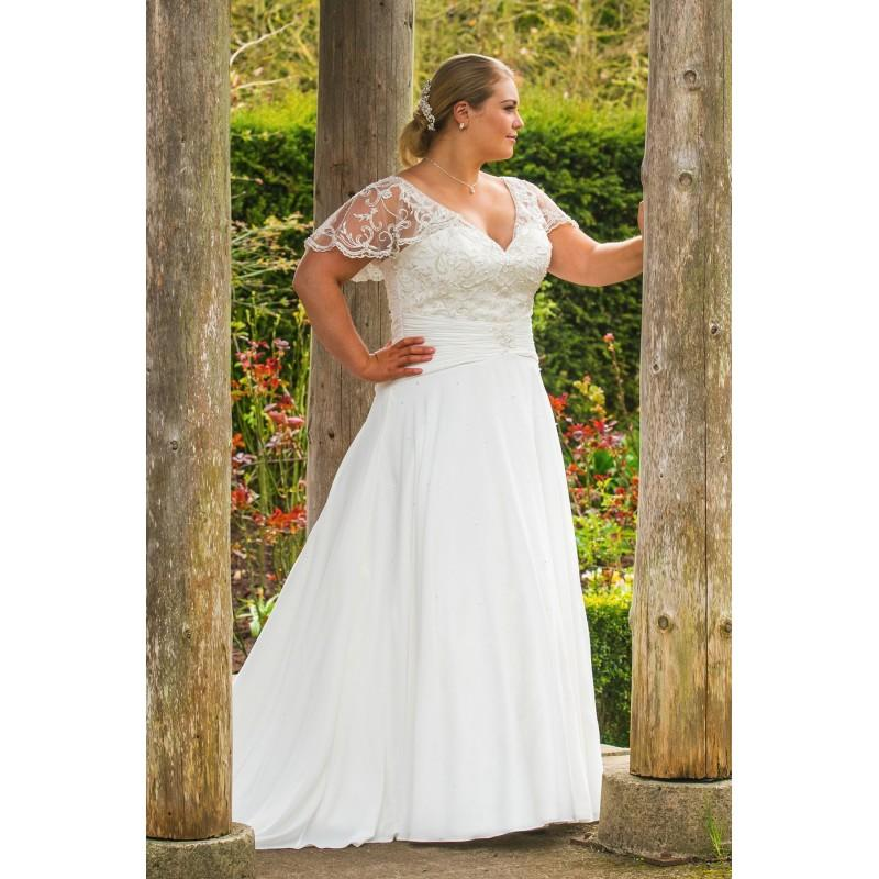 Plus Size Dresses Style Bb17517 By Bb By Special Day Ivory White